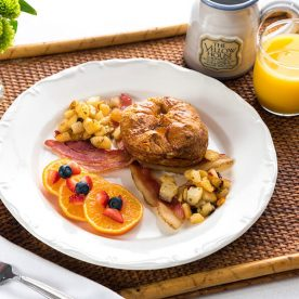 The Yellow House breakfast