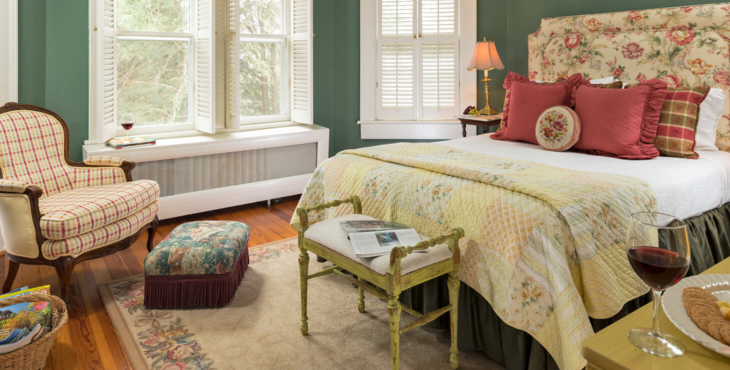 Carolina room bed and chair