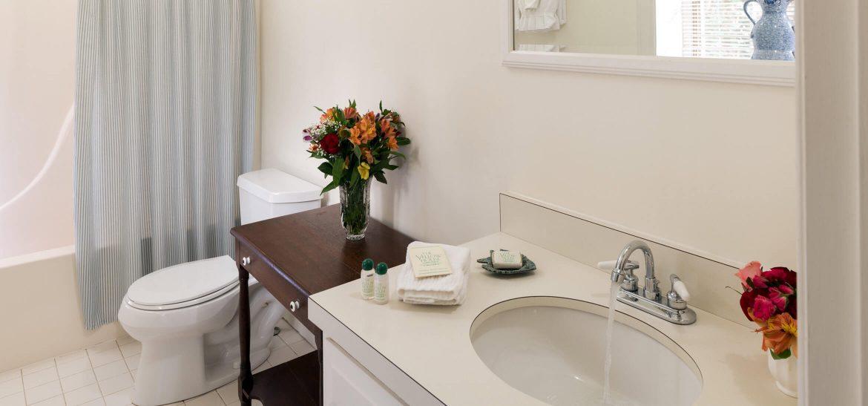Holland room bathroom