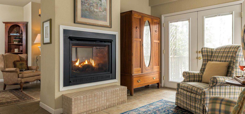 Kinsale Suite fireplace