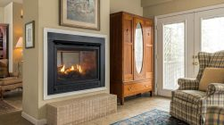 Kinsale Suite fireplace