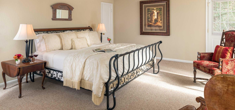 Sunrise Suite bed