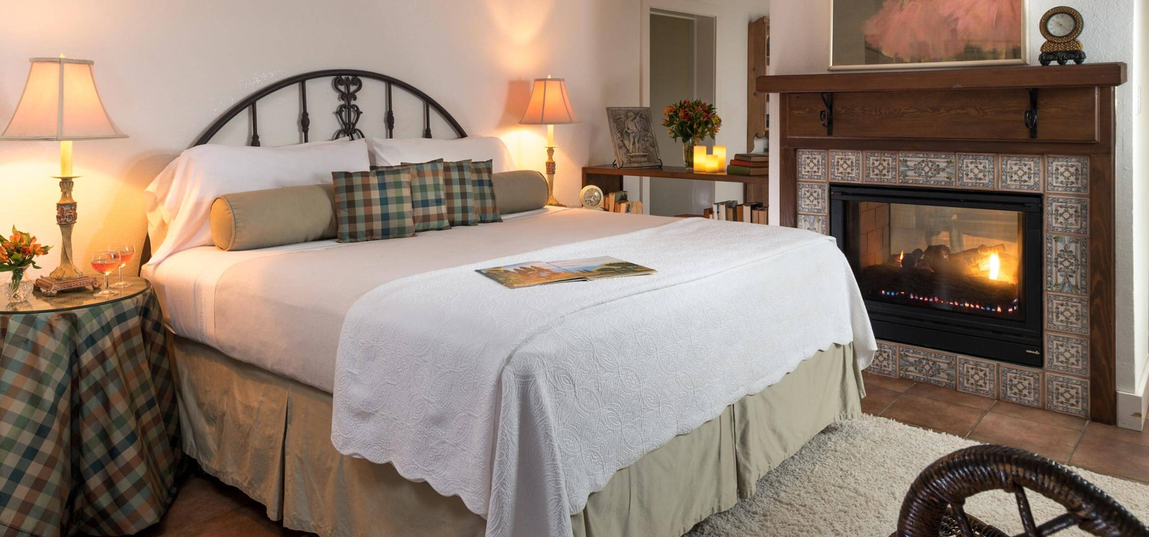 Vineyard Suite bed