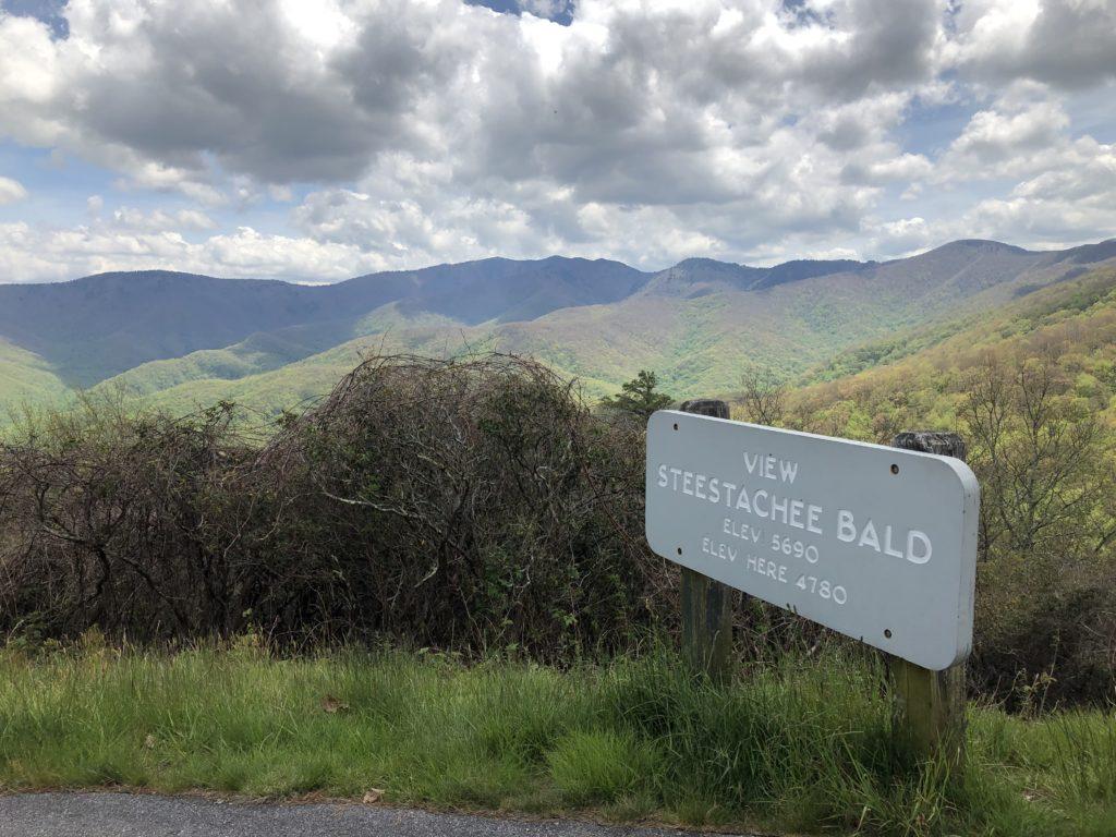 Steestachee Bald on Blue Ridge Parkway
