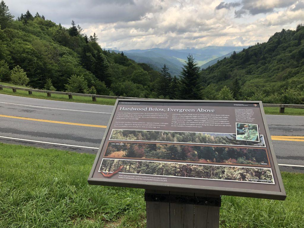 Smoky Mountain Park Overlook