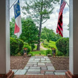 Entryway of our Waynesville b&b
