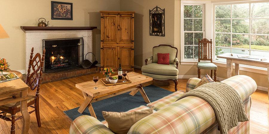 Spacious Guest Suite on North Carolina winter getaway