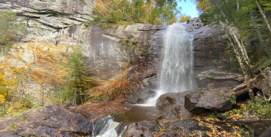 Bridal Veil Falls - A Top North Carolina Waterfall